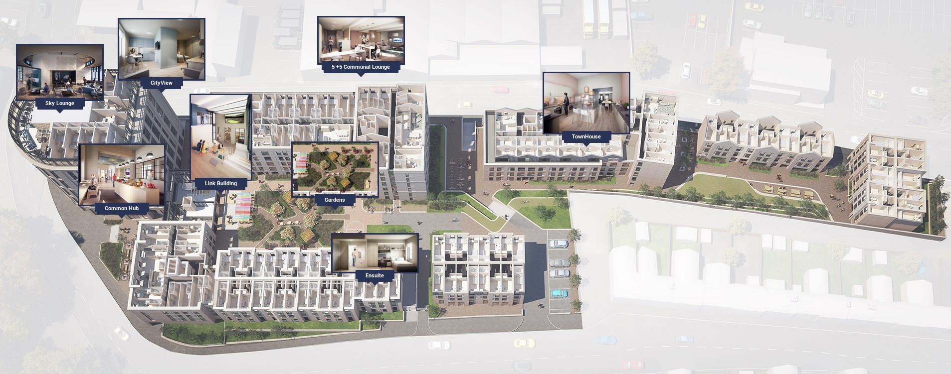 Town House Caton Road Court, 5-15 Bulk Road, Lancaster, LA1 1DN